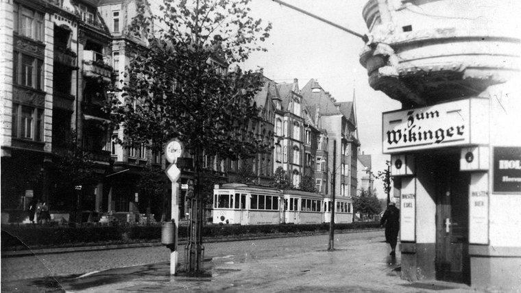 Die Holtenauer Straße nördlich der Arkaden. © NDR