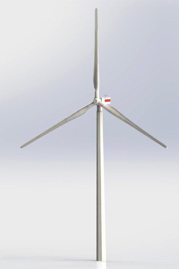 Windräder der Zukunft - Holz statt Beton?