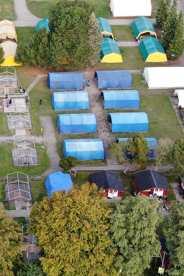 Jugendcamp in Grömitz: Lage nach Großeinsatz entspannt sich