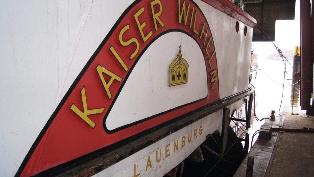 Raddampfer Kaiser Wilhelm wird restauriert