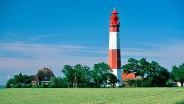 Leuchtturm in Flügge auf Fehmarn © picture alliance Fotograf: R. Kiedrowski