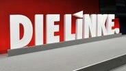 Logo der Partei Die Linke © dpa/Picture-Alliance Foto: Bernd Thissen