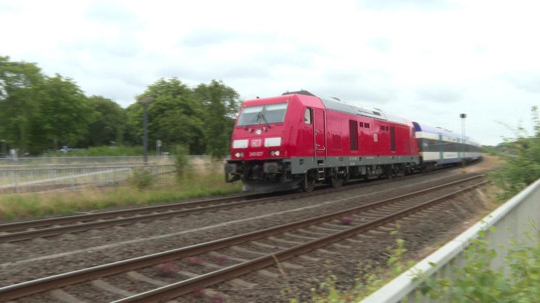 Marschbahn-Ausbau: Strecke Heide - Husum gestört