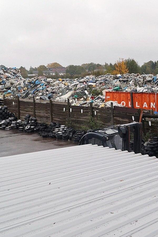 Meterhohe Müllberge in Norderstedt - Wer ist zuständig?