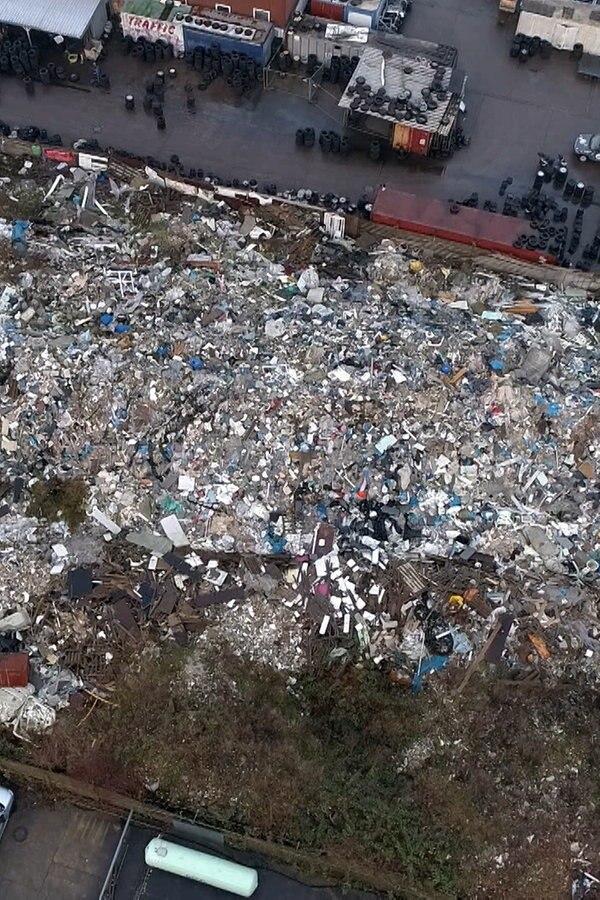 Norderstedt: Gefährliche Stoffe im Müllberg