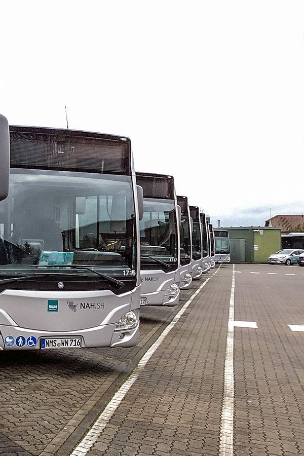 Neumünster: Busfahrer der Stadtwerke im Warnstreik