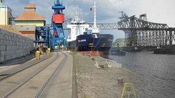 Ein historischer Vergleich des Nord-Ostsee-Kanals. © NDR Foto: Christian Wolf