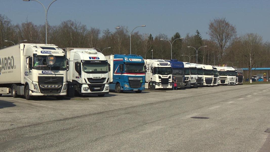 Lkw-Fahrer: Geschlossene Raststätten durch Corona