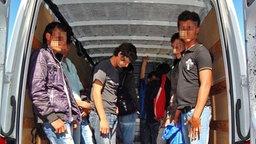 Bundespolizei vereitelt Schleusung © Bundespolizei