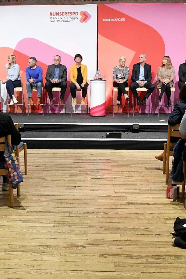 Kandidaten für SPD-Parteivorsitz: Großes Interesse