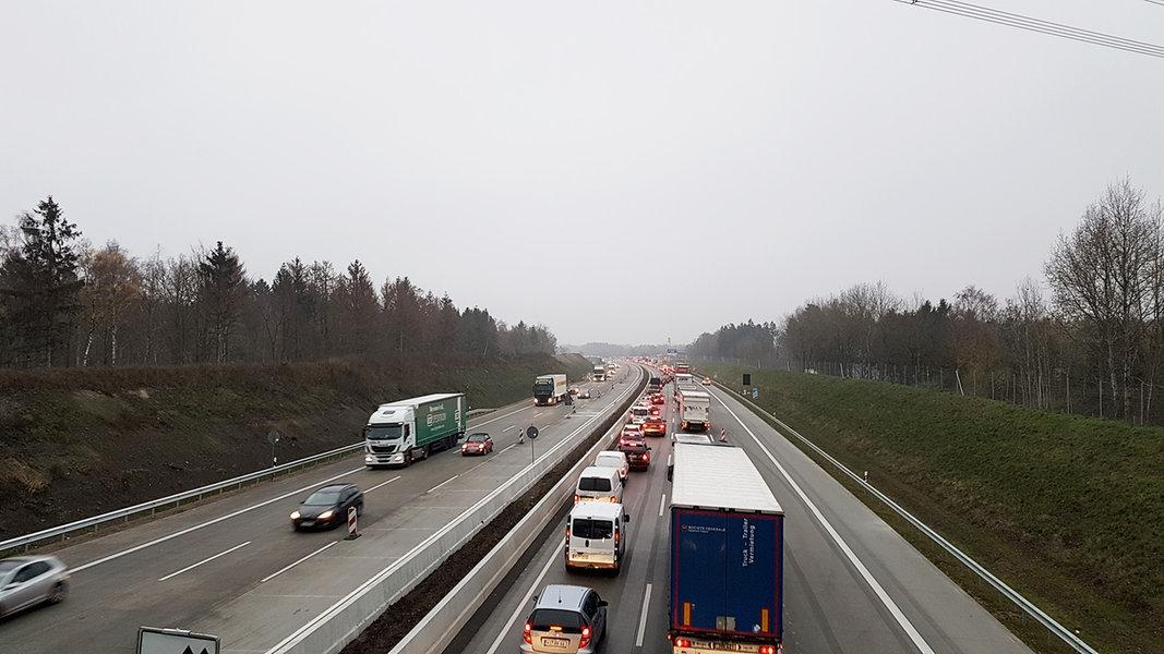 Verkehr Auf A7