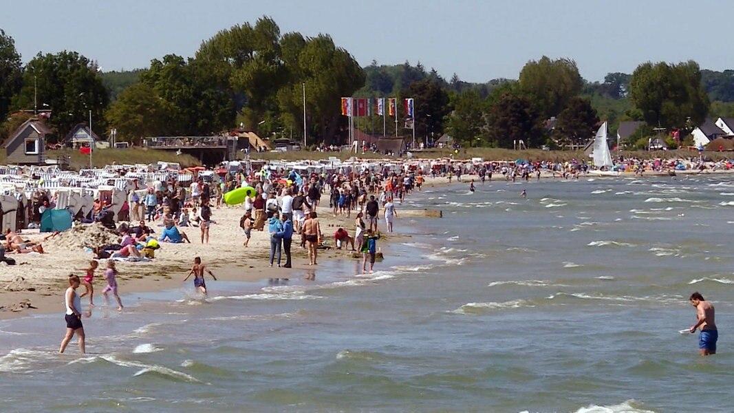 Corona: Strand-App soll Ansturm auf SH-Strände begrenzen