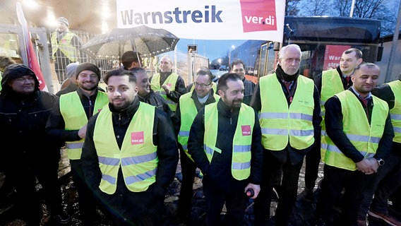 Busstreik Stralsund
