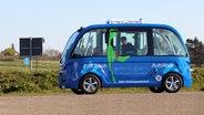 Autonomer Bus auf Sylt gestartet