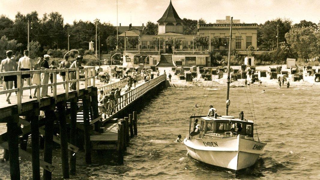 Timmendorfer Strand damals und heute