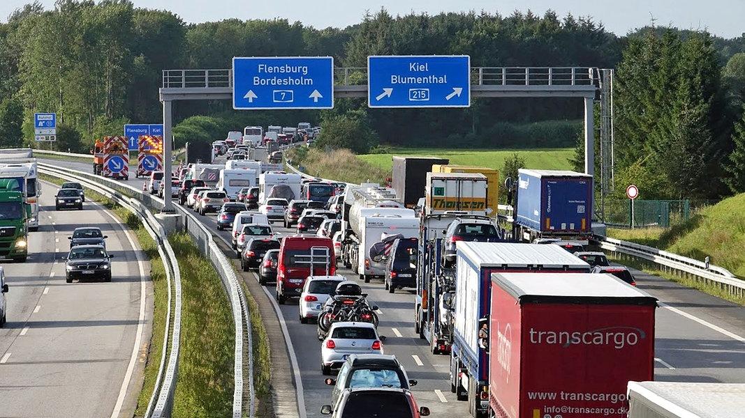 Verkehrsmeldungen Autobahnen
