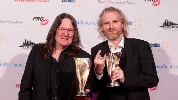 Holger Hübner und Thomas Jensen - Ein Orden für die Wacken-Bosse