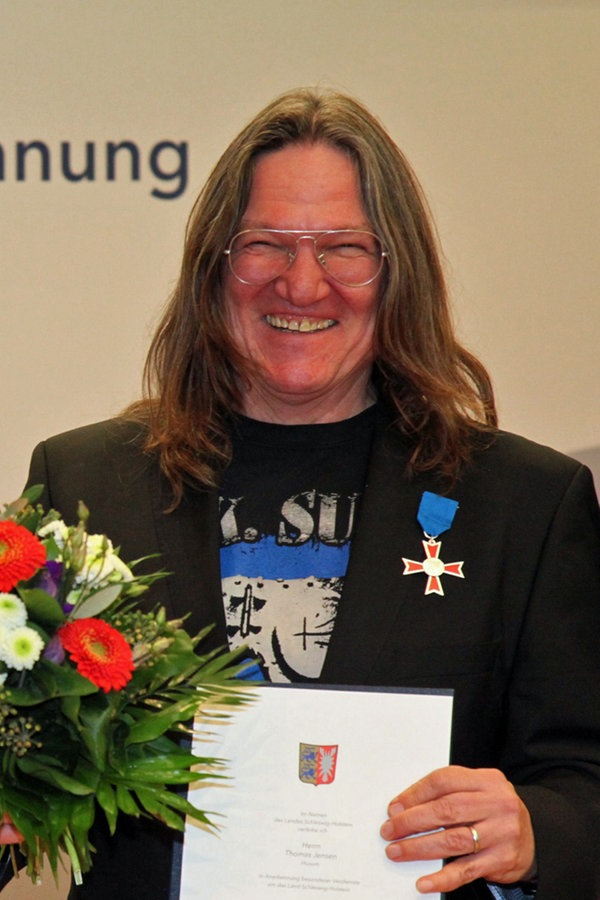 Höchste Auszeichnung des Landes für Wacken-Gründer