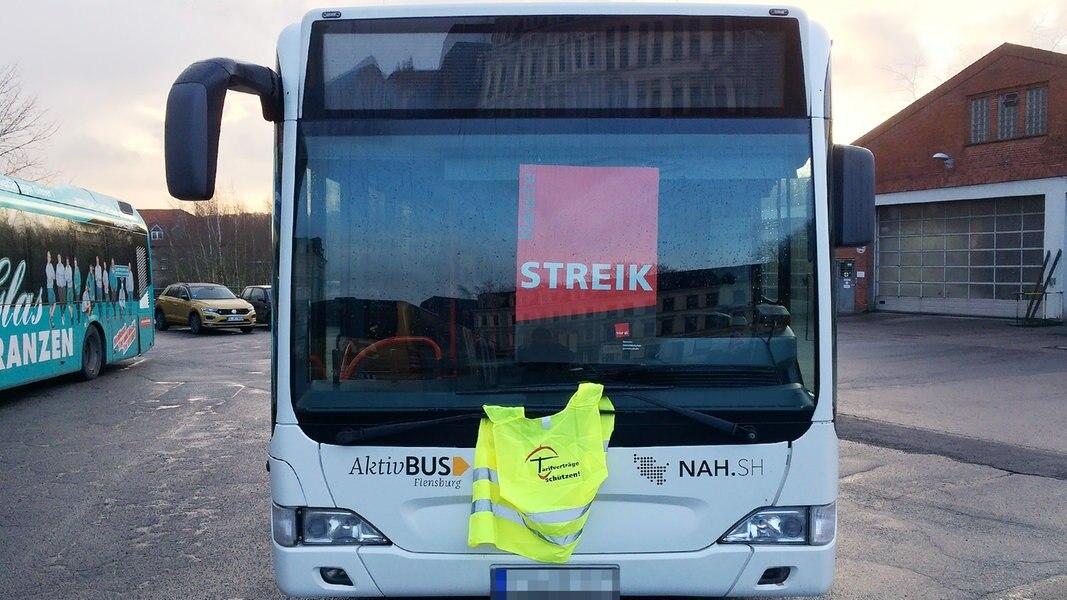 Bus Streik Flensburg