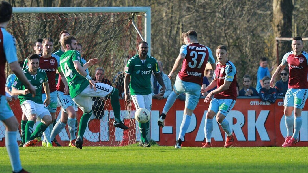 4. Liga: Weiche siegt im Derby, Zwangspause für Lübeck