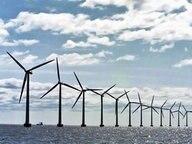 Ein Offshore-Windpark © dana press photo Fotograf: dana press photo