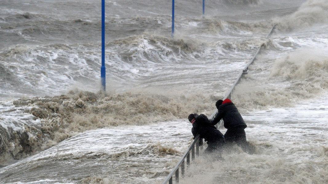 Unwetterwarnung Schleswig-Holstein Ndr