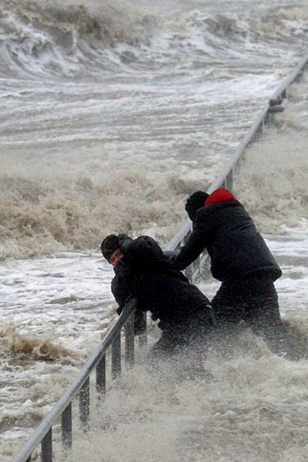 "Dezember 2013: Orkan ""Xaver"" wütet in Norddeutschland"