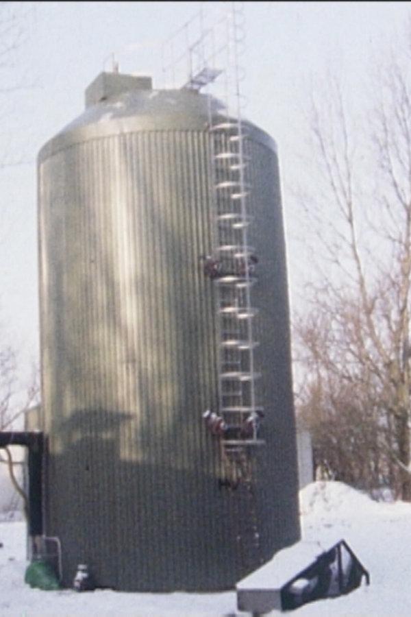 Zeitreise: Die erste Biogasanlage der Bundesrepublik