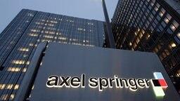 Axel-Springer-Zentrale in Berlin © dpa