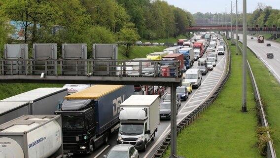 Autobahnen Hier drohen an Himmelfahrt lange Staus