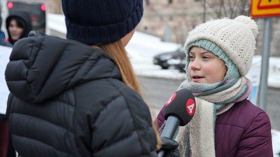 Klimaaktivistin Greta Thunberg kommt nach Hamburg