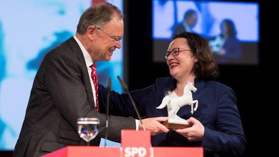 Bringt Nahles die SPD wieder auf Kurs?
