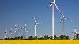 Windkrafträder © dpa