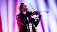 David Garrett mit Geige. © picture alliance / dpa Foto: Andreas Lander