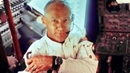 Astronaut Edwin E. Aldrin Jr., Pilot der Apollo 11 © picture-alliance/landov