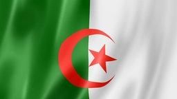 Flagge / Fahne von Algerien