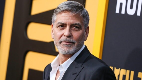 Ein Porträt des Schauspielers George Clooney (2019). © picture alliance / NurPhoto | Image Press Agency