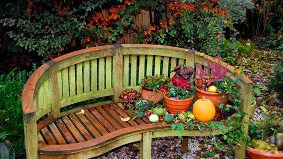 Gartenmöbel aus Holz reinigen und pflegen | NDR.de - Ratgeber - Garten