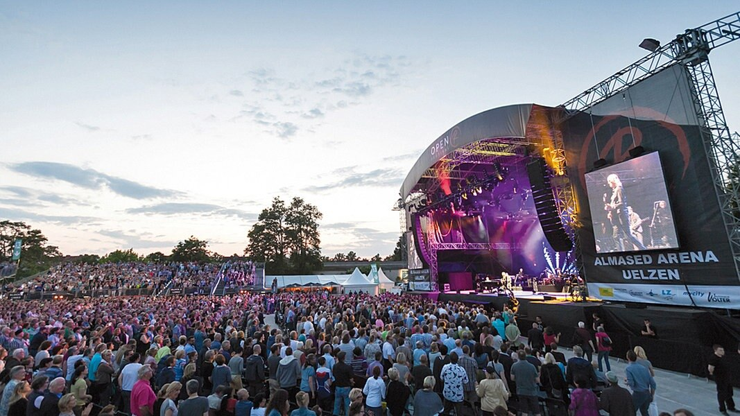 Festival Feeling Auf Dem Uelzen Open Air Ndrde Unterhaltung