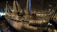 Das Kriegsschiff Vasa im Vasa-Museum in Stockholm © picture alliance / Photoshot Foto: -