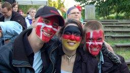 Deutsch-Dänische Freundschaft beim Fußball in Aabenraa © NDR/Jörg Jacobsen Foto: Jörg Jacobsen