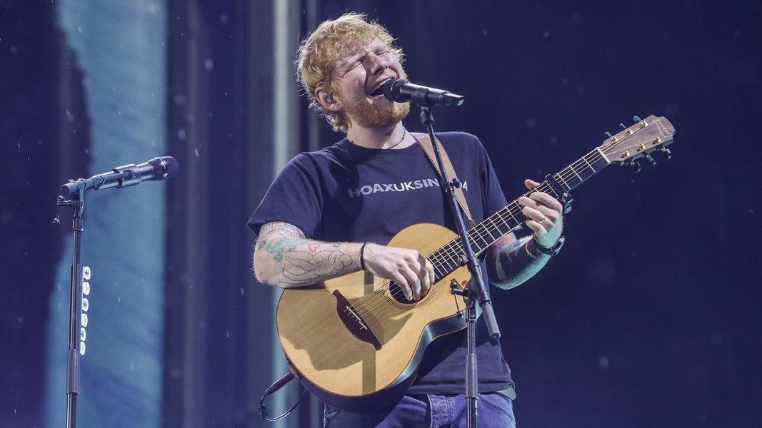 75.000 Fans feiern Ed Sheeran