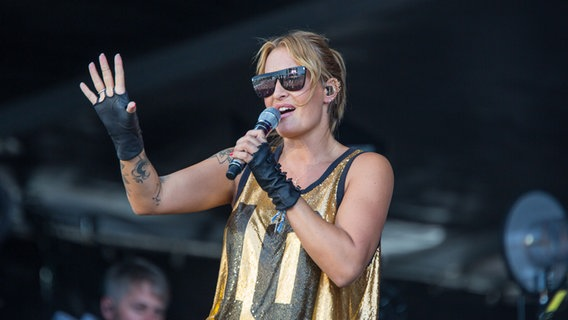 Sarah Connor beim NDR 2 Papenburg Festival am 1. September 2018 © NDR 2 Foto: Axel Herzig