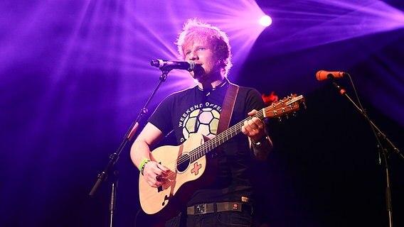 Ed Sheeran in der Stadthalle Göttingen beim NDR 2 Soundcheck Neue Musikfestival © NDR 2 Fotograf: Axel Herzig