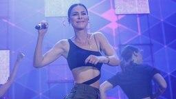 Lena auf der Bühne © NDR Foto: Axel Herzig