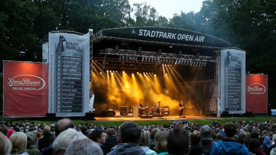 The Script beim Open-Air im Hamburger Stadtpark am 04. September 2015 © NDR 2 Foto: Mirko Hannemann