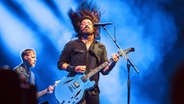 Foo Fighters Frontman Dave Grohl beim Lollapalooza Berlin 2017. © imago stock&people