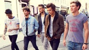 Die fünf Mitglieder der Band One Direction © Sony Music
