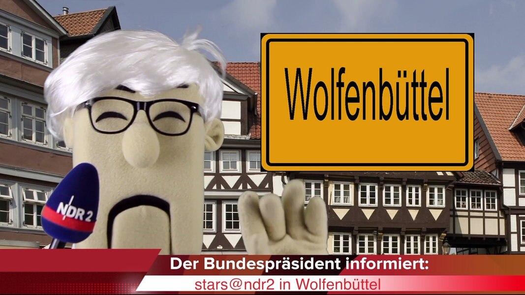 Der Bundespräsident informiert: Reise nach Wolfenbüttel