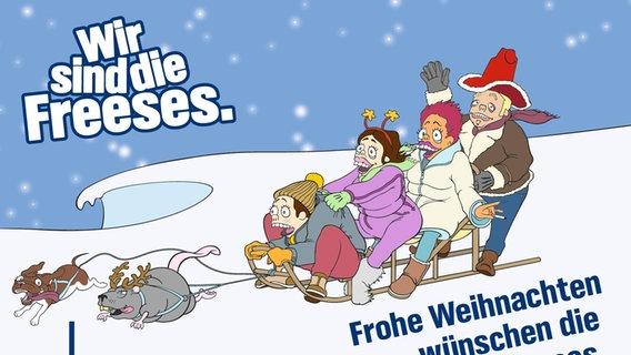 Frohe Weihnachten Plattdeutsch.Frohe Weihnachten Mit Den Freeses Ndr De Ndr 2